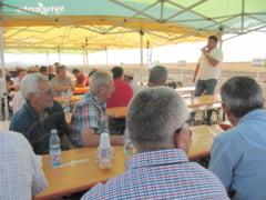 Simpozion pe un camp la Randunica: Hibrizii Syngenta raman campioni si in 2016