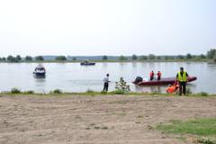 Simulare de accident naval pe Dunare, in zona orasului Corabia