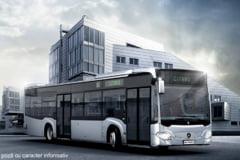 Sinaia isi cumpara cu bani europeni autobuze hibrid de la Mercedes