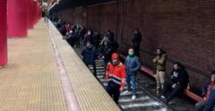 """Sindicalist de la metrou: """"Acest protest nu are nicio legatura cu spatiile comerciale din metrou"""""""