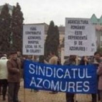 Sindicalistii Azomures vor picheta sediul Ministerului Agriculturii