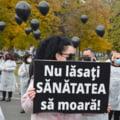"Sindicalistii de la ""Solidaritatea Sanitara"" protesteaza din nou joi in Piata Victoriei"
