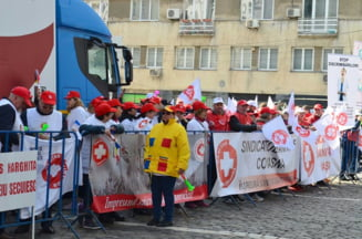 Sindicalistii din Sanatate nu renunta la proteste: Nu putem ingriji pacientul pe bani mai putini. Varianta grevei, cea mai buna solutie