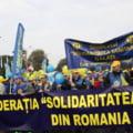 Sindicalistii din sanatate protesteaza din nou in fata Guvernului