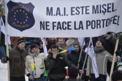 Sindicatele din politie si penitenciare vor protesta in timpul reuniunii Consiliului JAI de la Bucuresti