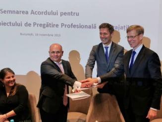 Sindicatele si patronatele din sectorul bancar au semnat un acord pentru pregatirea profesionala a angajatilor din sistem