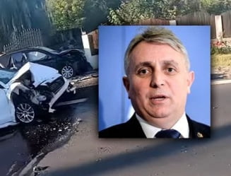 """Sindicatul Europol despre accidentul ministrului Transporturilor: """"Ministrul Bode minte cu nerusinare. SPP-istul este o victima"""""""