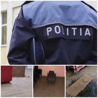 Sindicatul politistilor reclama conditiile inumane in care au fost nevoiti sa stea unii politisti trimisi sa pazeasca buletinele de vot. Incaperi insalubre in care ploua, scaune murdare si soareci