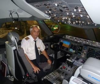 Singurul roman comandant al celui mai modern avion din lume: Romania? O masinarie stricata