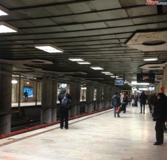 Sinucidere la metrou: Circulatia a fost blocata UPDATE