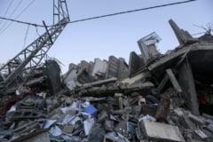 Sirenele au tacut in Israel, oficialii palestinieni anunta un armistitiu pentru Gaza