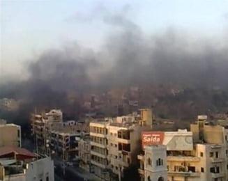 Siria: Armata a aruncat in multime bombe care imprastie cuie