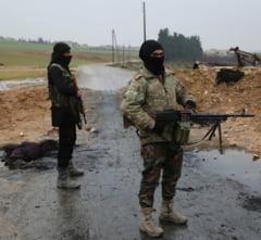 Siria: Cel putin 19 morti in lupte duse intre jihadisti si rebeli in nordul tarii