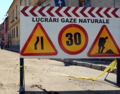 Sistare de gaze naturale la Sighisoara