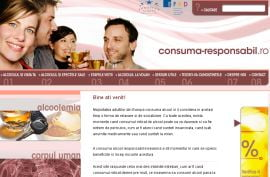 Site dedicat consumului responsabil de alcool