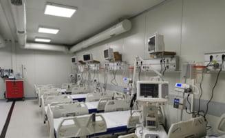 """deși nu mai sunt locuri la ATI, peste 100 de paturi perfect echipate stau """"sub cheie"""" la spitalul din Lețcani"""