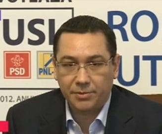 Situatia lui Iohannis ramane in aer. Solutia lui Ponta: Fiecare partid din USL sa aiba un vicepremier