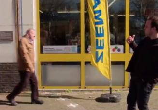Situatia nemaintalnita in care se afla un magazin aflat la granita dintre Olanda si Belgia