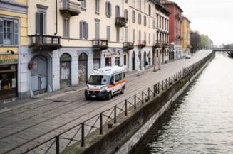 Situatia ramane grava in Italia: Peste 600 de oameni au murit si peste 6000 de noi cazuri