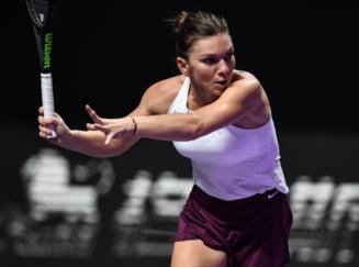 Situatia s-a complicat pentru Simona Halep in Grupa Violet: Nu mai depinde doar de ea pentru calificarea in semifinalele Turneului Campioanelor