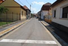 Situatia strazilor modernizate in Oradea - Lucrarile aproape de final