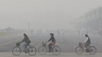 Situatie dramatica in China, din cauza poluarii. Expertii se tem de amenintari teroriste