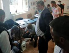 Situatie extrem de tensionata in Stefanestii de Jos, Ilfov: primarul, acuzat ca a lovit un barbat in sectia de votare
