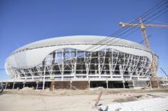 Situatie incredibila la Craiova: Noul stadion nu poate fi finalizat pentru ca nu exista muncitori