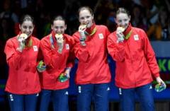 Situatie rusinoasa pentru Romania la Rio: Echipamentul unei campioane olimpice s-a rupt pe podium