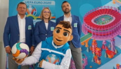 Skillzy, mascota oficiala a EURO 2020, a fost lansata oficial la Bucuresti