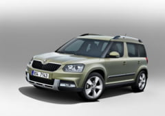 Skoda modifica Yeti: Din toamna micul SUV in doua variante