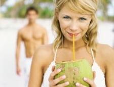 Slabeste band apa de cocos