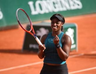 Sloane Stephens a fost la un pas sa fie eliminata la editia din acest an de la Roland Garros