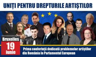 Smiley, Stela Popescu si Arsinel vor cere, la Bruxelles, pensii pentru artisti