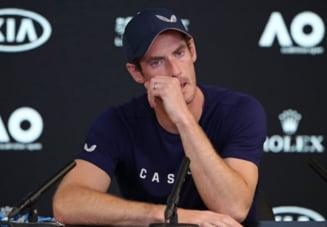 Soc in lumea tenisului: Cu ochii in lacrimi, Andy Murray si-a anuntat retragerea