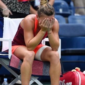 Soc la Brisbane: Simona Halep s-a retras din cauza unei accidentari!