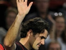 Soc la Roma: Federer, eliminat de un leton