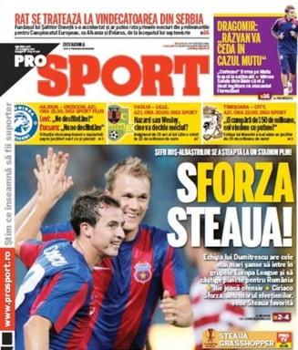 Soc pe piata media: Ziarul ProSport renunta la editia tiparita