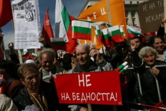 Socialistii bulgarii, protest de amploare la Sofia