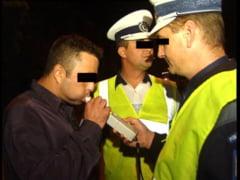 Sofer baut prins pe Calea Bucuresti cu 130 km/h
