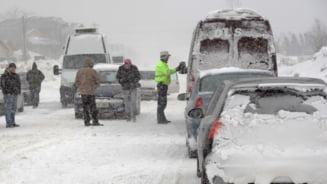 Soferi iresponsabili: Zeci de amenzi pentru lipsa cauciucurilor de iarna