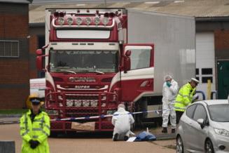 Soferul camionului cu 39 de morti de langa Londra, inculpat pentru omor prin imprudenta
