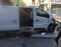 Soferul criminal de la Barcelona a fost ucis de politia spaniola