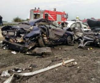Soferul roman implicat in accidentul din Grecia, audiat de autoritatile elene