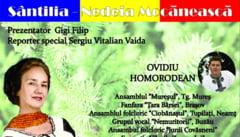 Sofia Vicoveanca, invitat special la Nedeia Mocaneasca a Voinestenilor din Covasna