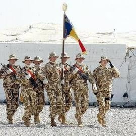 Soldatii romani mai stau in Irak in functie de doleantele Bagdadului (Video)