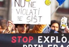 Solidaritate cu imbranceli la Bucuresti: Noi proteste fata de Rosia Montana si exploatarea de la Pungesti