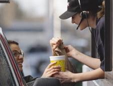 Somajul ridicat din SUA afecteaza vanzarile de fast food