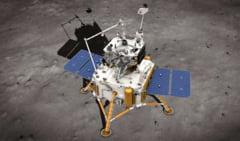 Sonda spatiala chineza care a prelevat probe de sol de pe Luna a revenit cu succes pe Pamant