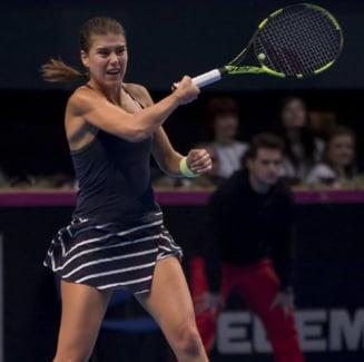 Sorana Carstea a facut o criza de nervi dupa infrangerea din Fed Cup